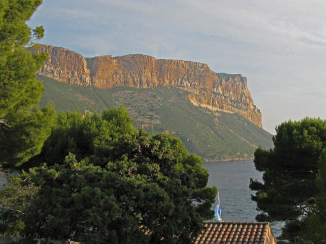Cap Canaille Sea Cliff, Cassis France