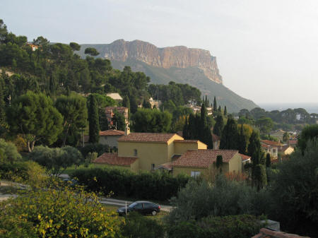 Map of cassis france for Cassis france hotels