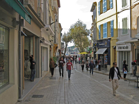 Shopping in Cassis France
