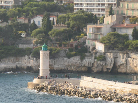 Lighthouse in Cassis France