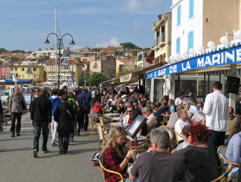 Restaurants in Cassis France