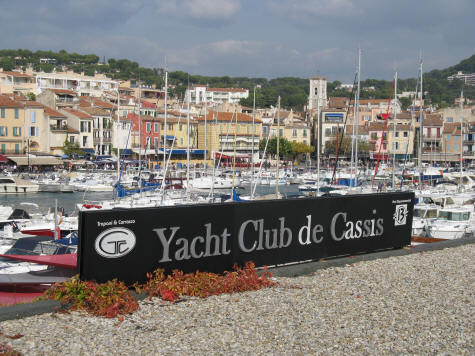 Yacht Club of Cassis France