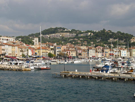 Port of Cassis in Provence France