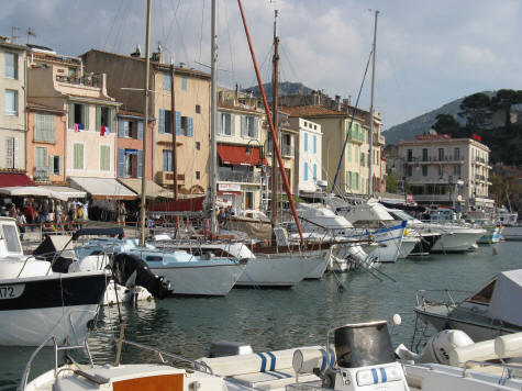 Yachting in Cassis France